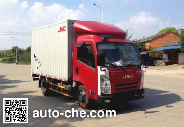 JMC JX5057XXYXBD2 box van truck