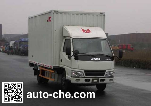 江铃牌JX5061XXYTG24BEV纯电动厢式运输车