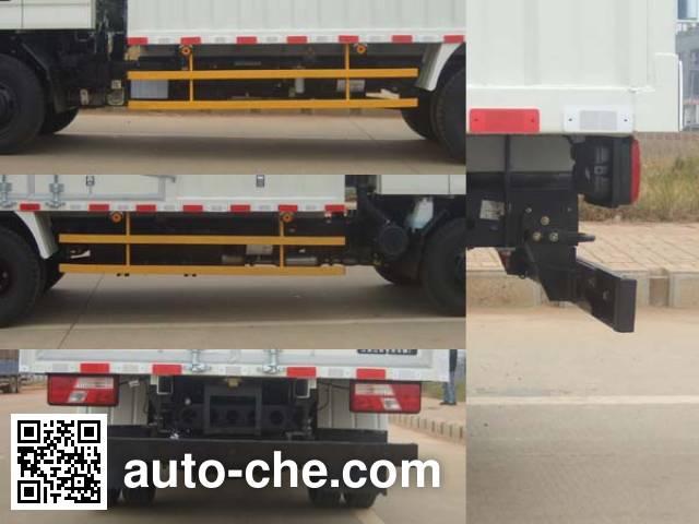 JMC JX5087XXYXPKA2 box van truck