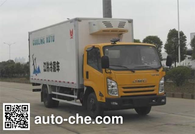 江铃牌JX5087XLCXK2冷藏车