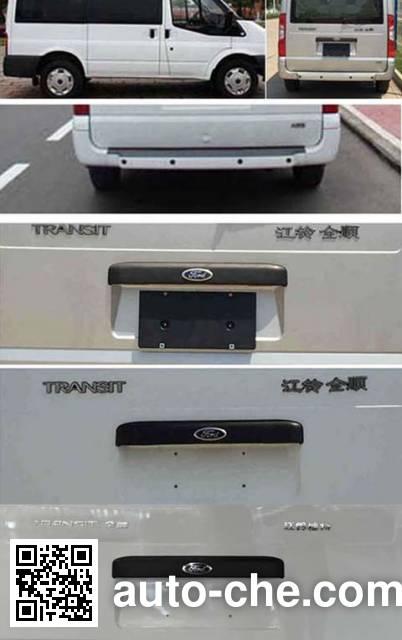 江铃全顺牌JX6490T-L4轻型客车