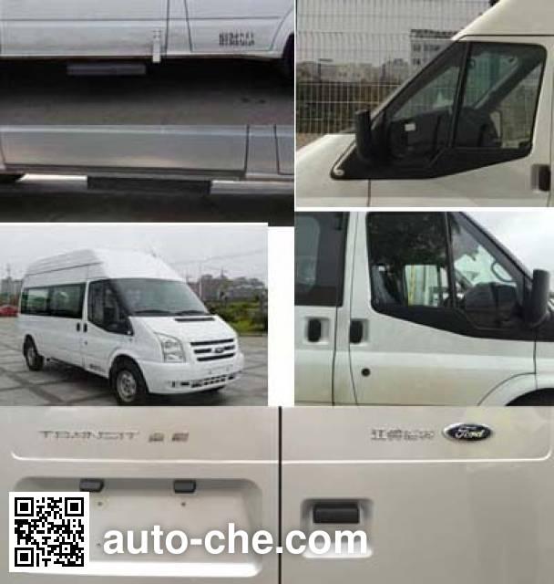 江铃全顺牌JX6581T-H4轻型客车
