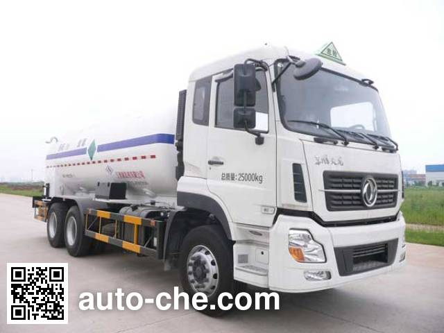 五峰牌JXY5250GDY1低温液体运输车