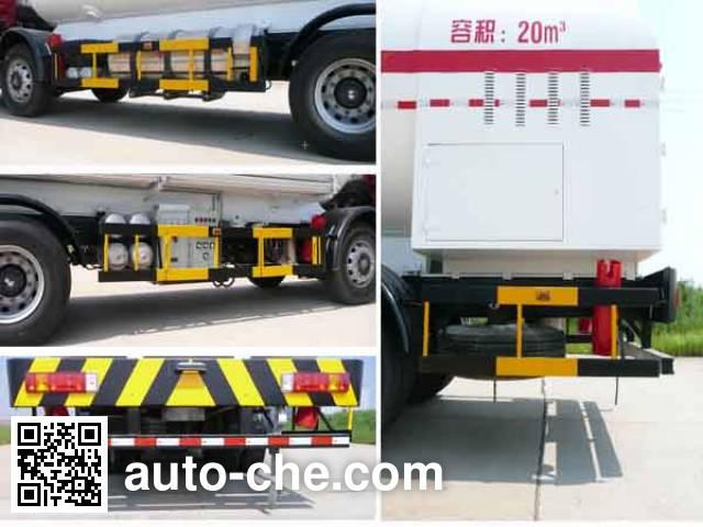 Wufeng JXY5290GDY1 cryogenic liquid tank truck