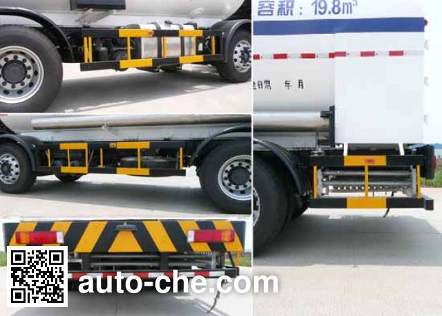 Wufeng JXY5313GDY2 cryogenic liquid tank truck