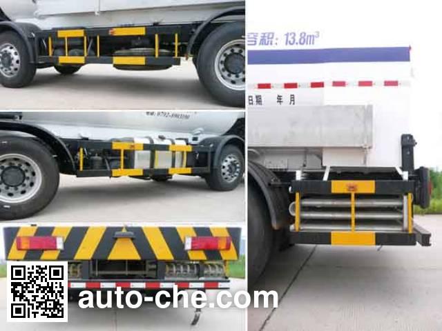 Wufeng JXY5313GDY5 cryogenic liquid tank truck