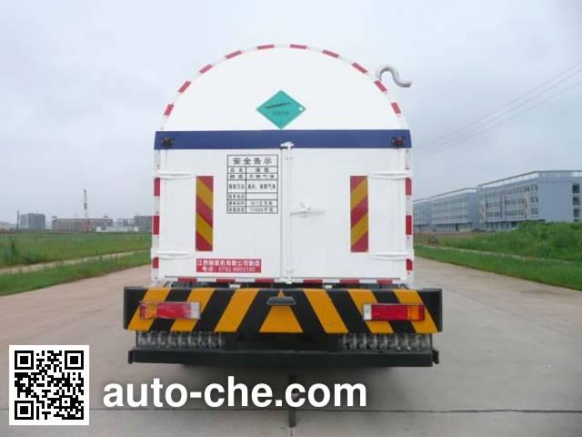 Wufeng JXY5313GDY7 cryogenic liquid tank truck