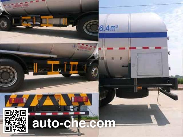 Wufeng JXY5316GDY3 cryogenic liquid tank truck
