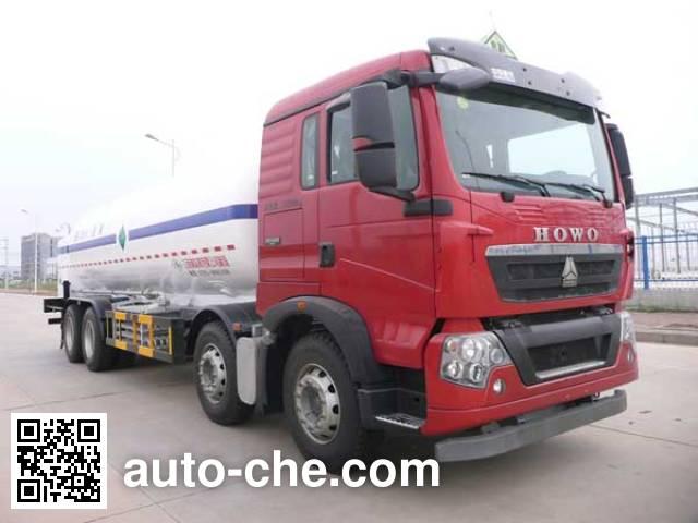 Wufeng JXY5316GDY4 cryogenic liquid tank truck