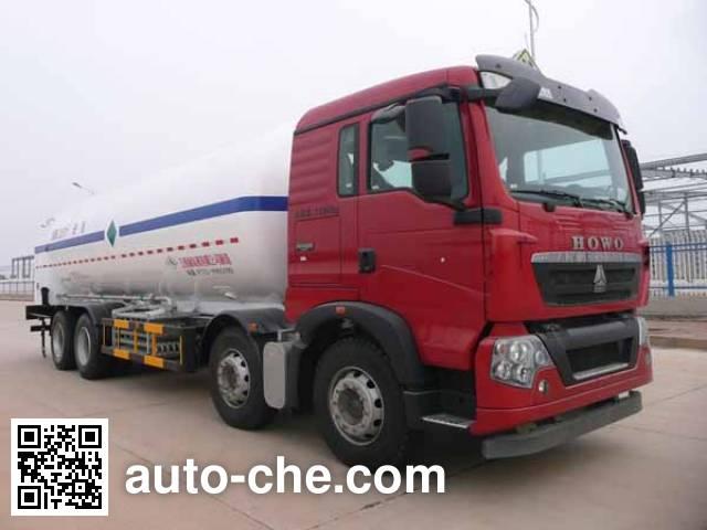 Wufeng JXY5316GDY5 cryogenic liquid tank truck