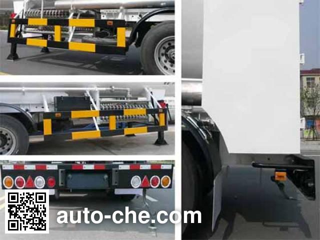 Wufeng JXY9401GDY4 cryogenic liquid tank semi-trailer
