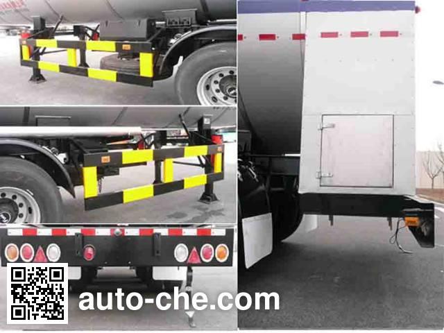 Wufeng JXY9403GDY5 cryogenic liquid tank semi-trailer