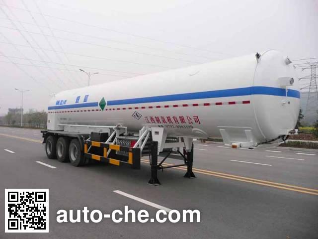 Wufeng JXY9406GDY3 cryogenic liquid tank semi-trailer