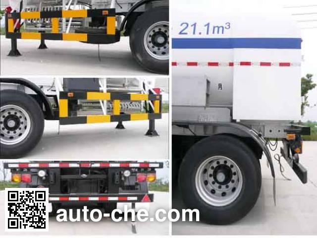 Wufeng JXY9406GDY4 cryogenic liquid tank semi-trailer