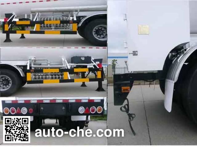 Wufeng JXY9406GDY5 cryogenic liquid tank semi-trailer