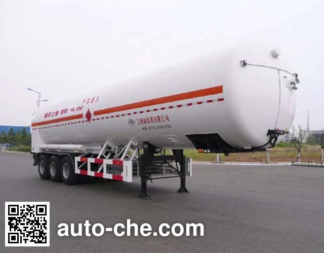 Wufeng JXY9408GDY3 cryogenic liquid tank semi-trailer