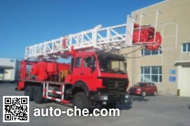 Qingquan JY5254TXJ40 well-workover rig truck