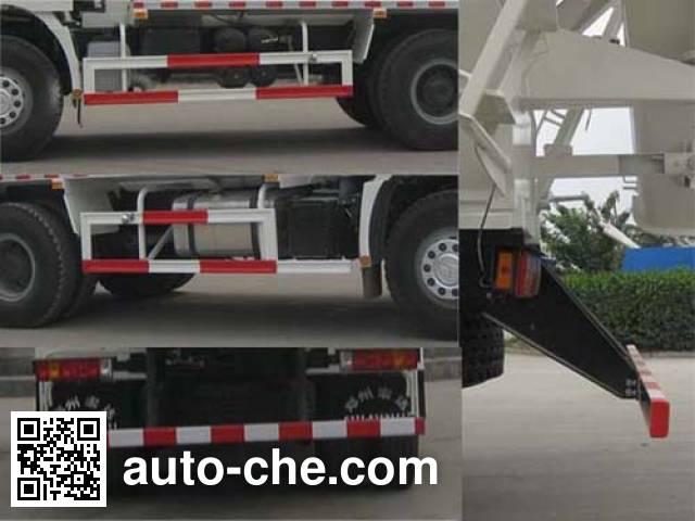 Yindun JYC5250GJBSX4 concrete mixer truck