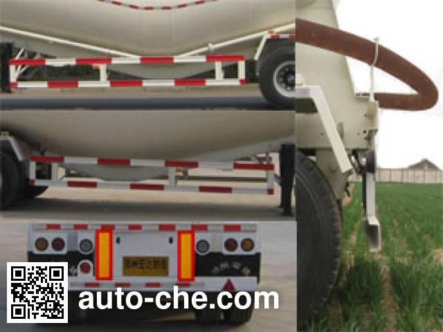 银盾牌JYC9401GFL粉粒物料运输半挂车