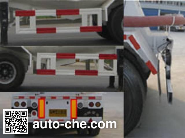 银盾牌JYC9402GFL粉粒物料运输半挂车