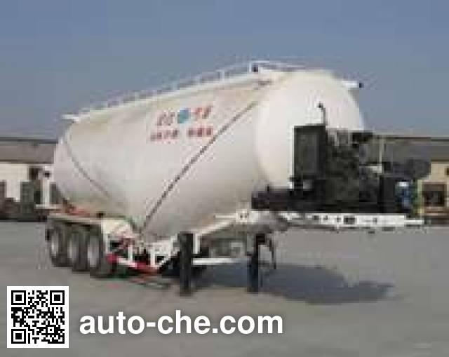银盾牌JYC9403GFL中密度粉粒物料运输半挂车