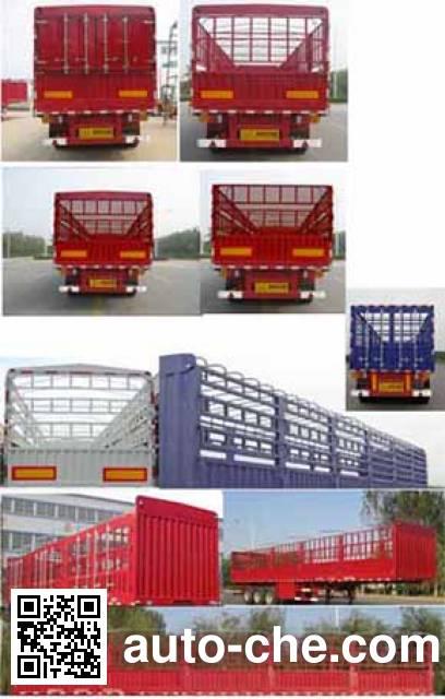 Yindun JYC9409CCY stake trailer