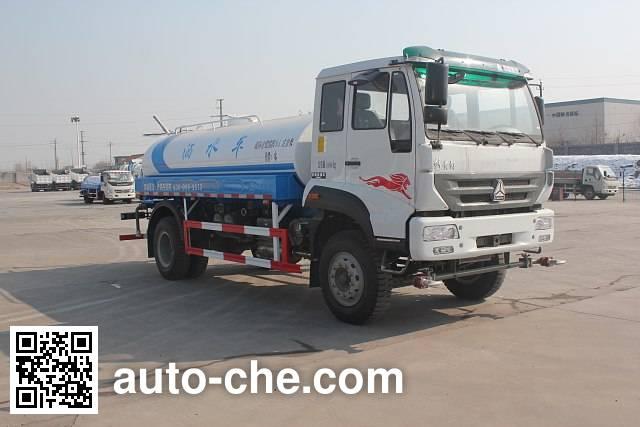 Luye JYJ5164GSSD sprinkler machine (water tank truck)