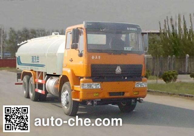 Luye JYJ5250GQX street sprinkler truck