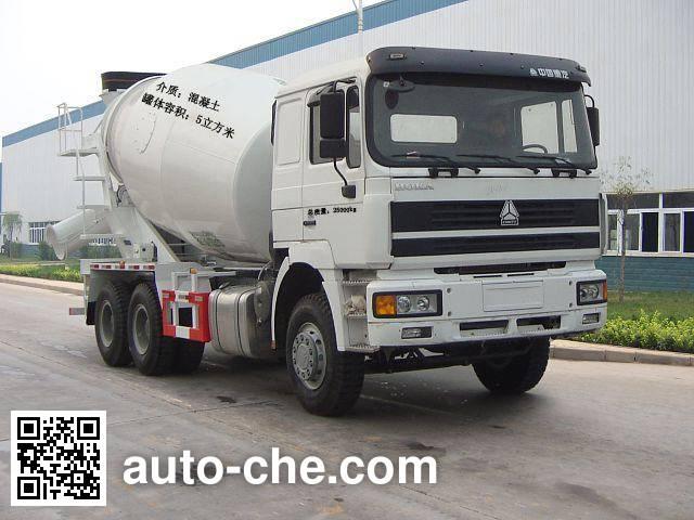 Luye JYJ5253GJBC concrete mixer truck