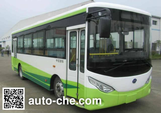 中宜牌JYK6800GBEV纯电动城市客车