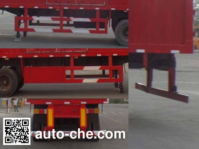Zhongyuntong JZJ9400XXY box body van trailer