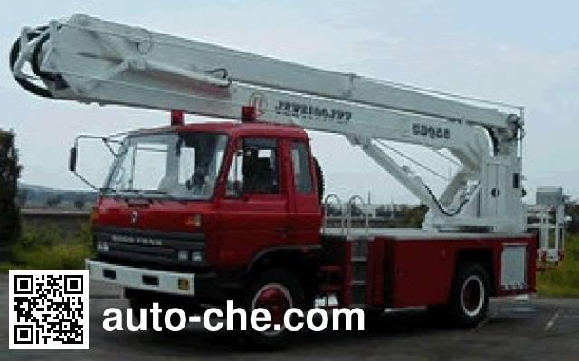 Jinzhong JZX5100JXFCDQ22 aerial platform fire truck