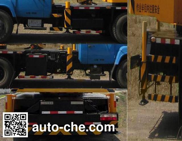 Jinzhong JZX5118JQZQY8FV-II truck crane