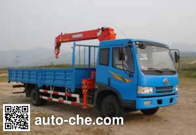 Jinzhong JZX5121JSQ truck mounted loader crane