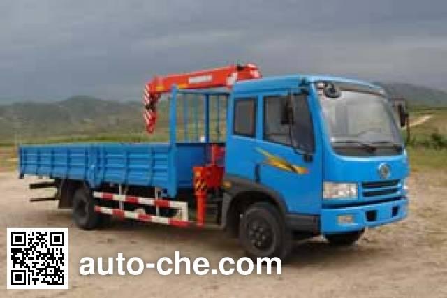 Jinzhong JZX5122JSQ truck mounted loader crane