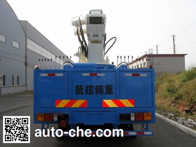 Jinzhong JZX5140TCS5B derrick test truck