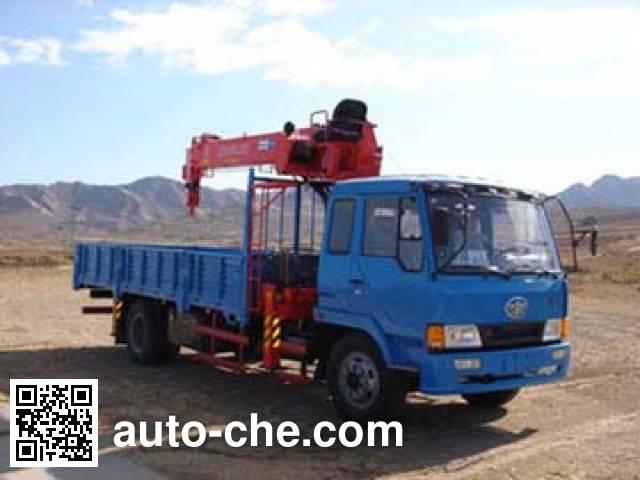 Jinzhong JZX5141JSQ truck mounted loader crane