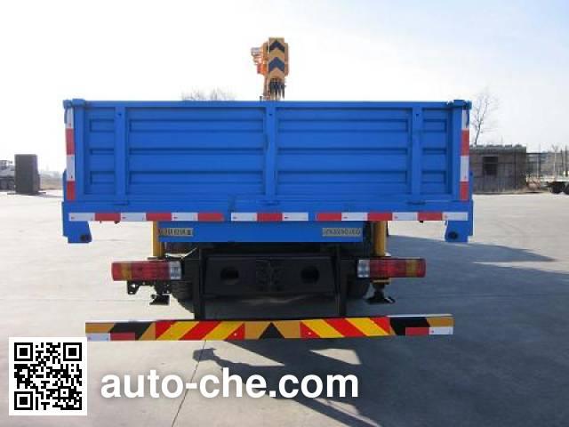 Jinzhong JZX5250JSQ truck mounted loader crane
