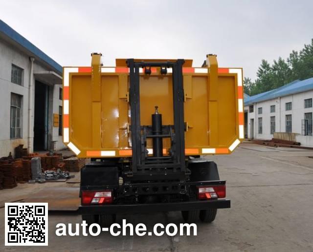鑫意牌JZZ5080ZWX污泥自卸车