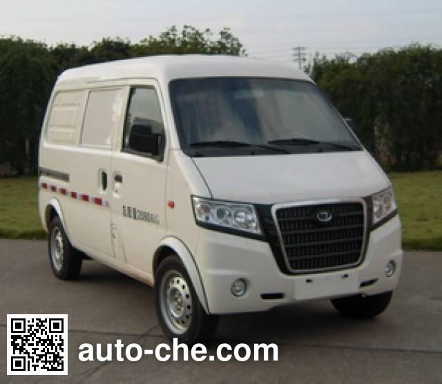 康迪牌KD5023XXYBEV纯电动厢式运输车