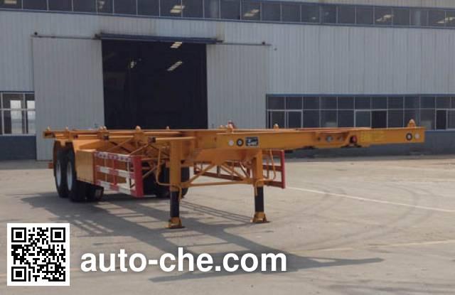凯迪捷牌KDJ9351TJZ集装箱运输半挂车