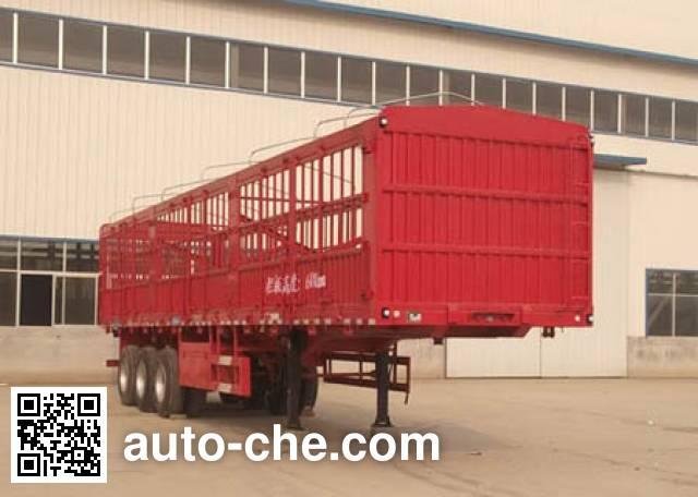 凯迪捷牌KDJ9400CCY仓栅式运输半挂车
