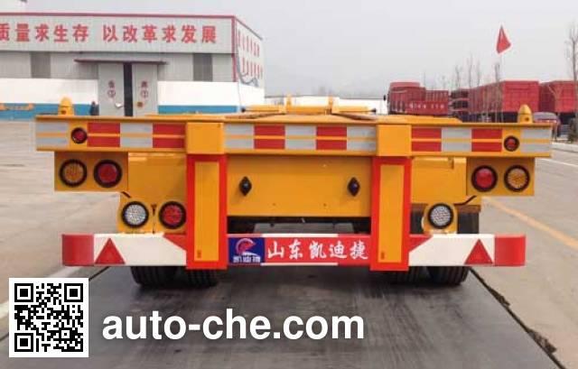 Kaidijie KDJ9400TJZE container transport trailer