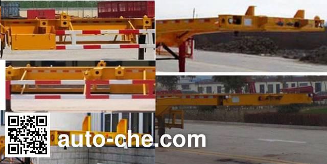 凯迪捷牌KDJ9403TJZE集装箱运输半挂车