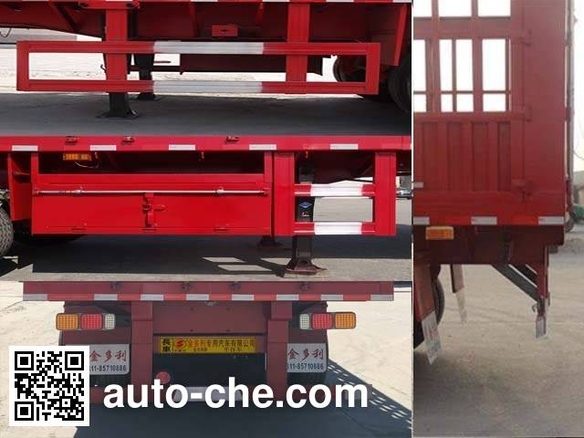 Jinduoli KDL9371CCYA stake trailer