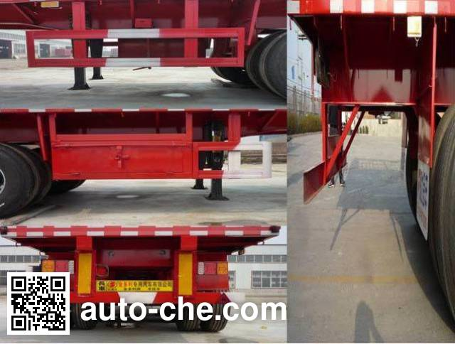 Jinduoli KDL9401TPB flatbed trailer