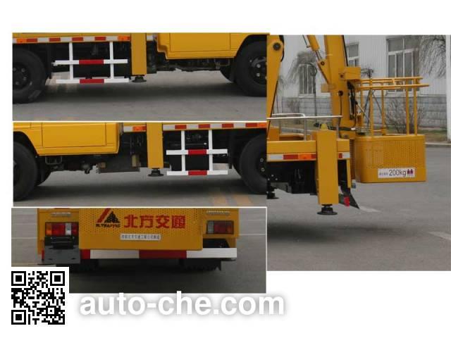 North Traffic Kaifan KFM5067JGK415Z aerial work platform truck