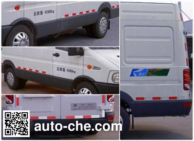 Kangfei KFT5041XLC48 refrigerated truck