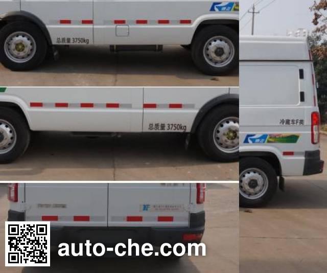 Kangfei KFT5041XLC52 refrigerated truck