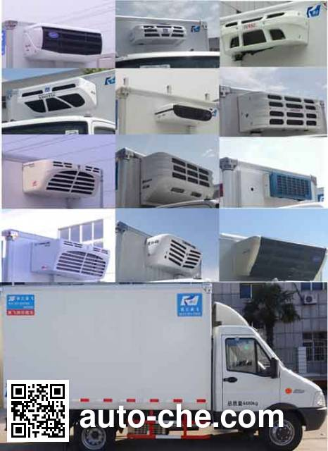 Kangfei KFT5041XLC57 refrigerated truck